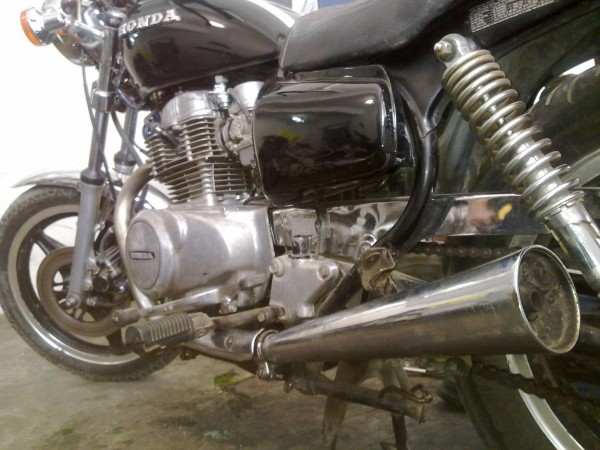 Hondamatic CM400 Final
