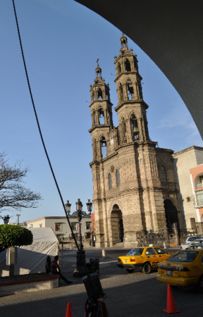 La catedral de Tepic, Nay.