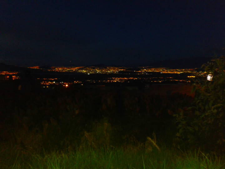 Zona sur/Oriente del D.F. desde Milpa Alta