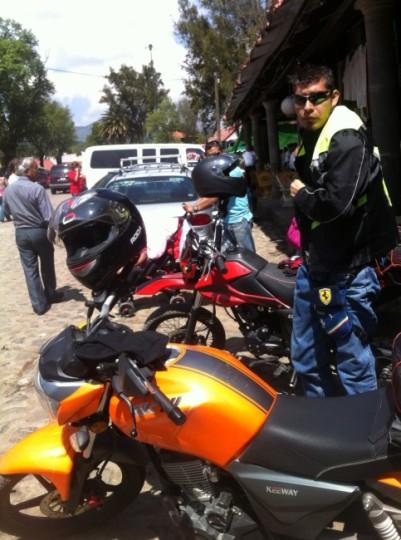 Arribo a Huasca