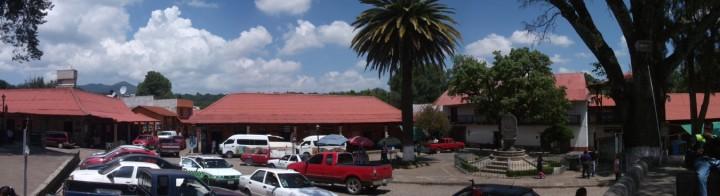 Centro de Huasca
