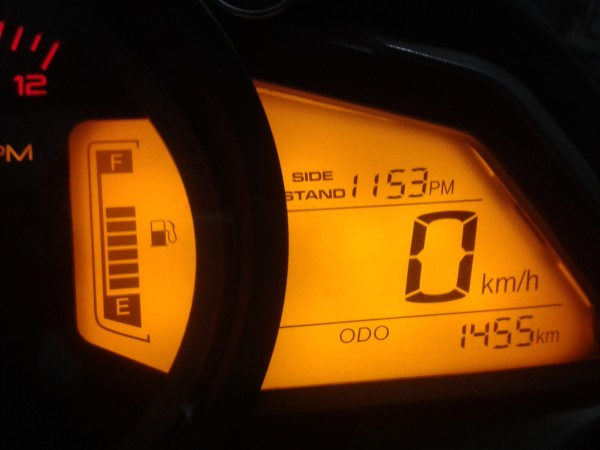 Kilometraje Total de la Motocicleta
