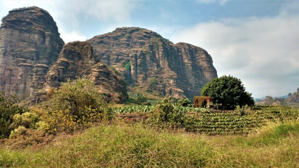 Los cerros de Madera
