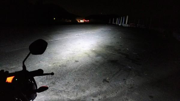 En el Mirador de noche