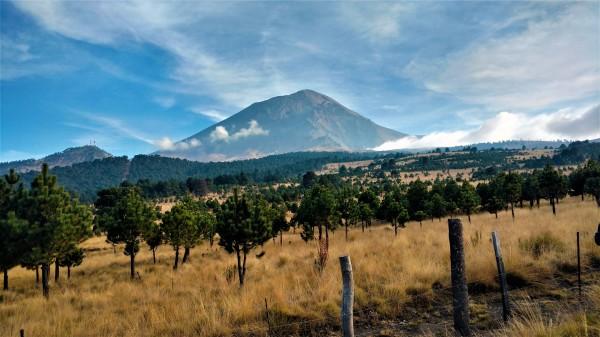 El Popocatépetl en esplendor