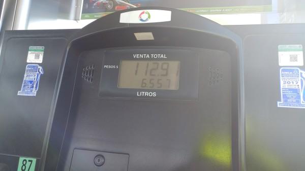 6.5 litros de premium