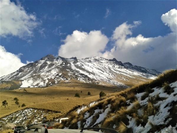 Nevado de Toluca a medio derretir