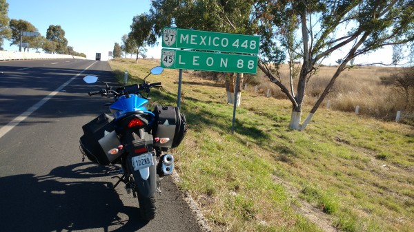 Mexico 448. Ya me siento en casa prácticamente!
